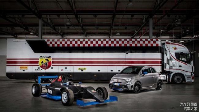 菲亚特Abarth新官图发布:新车马力达167匹 发动机采用F4赛车技术
