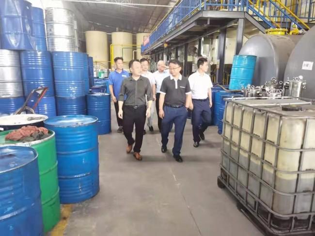 信丰县领导莅临商埠汇,指导智能木工机械制造产业园建设工作