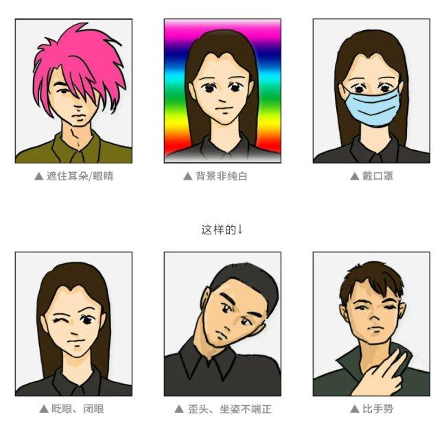 深圳电子驾驶证照片审核未通过都有哪些原因