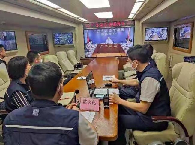 """广州应急保障应用信息化""""十张图""""可实现广交会展会交通等一键掌握"""