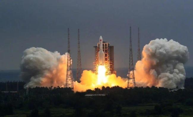 空间站天和核心舱发射任务取得圆满成功!