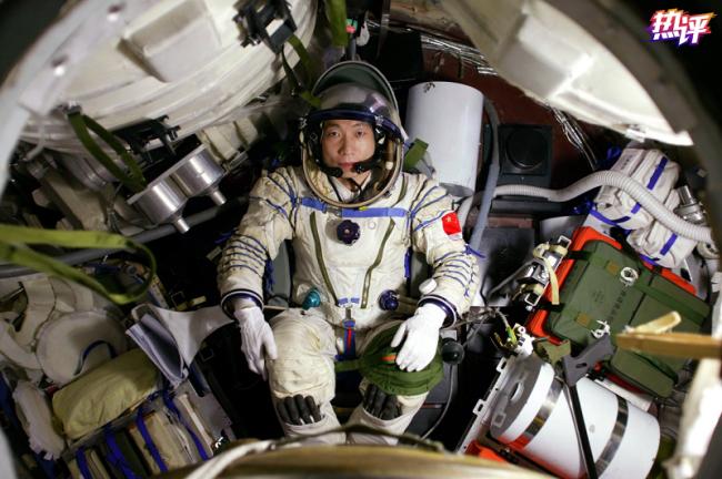 杨利伟《太空一日》刷屏,致敬航天人追星逐月的勇敢