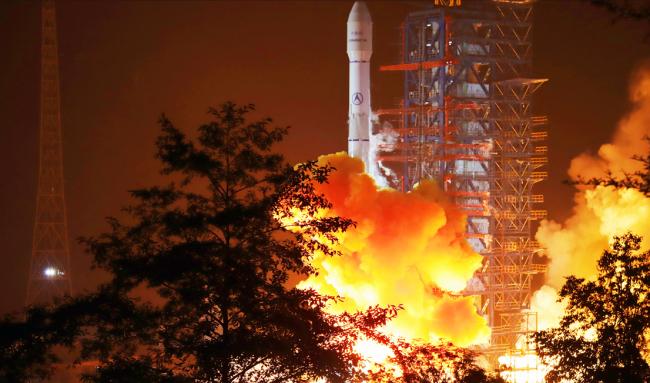 长三乙成功发射中星9B卫星 助力冬奥直播