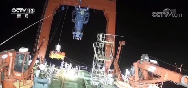 """打破多项无人潜水器世界纪录 """"海斗一号""""无人潜水器跨入万米科考应用新阶段"""