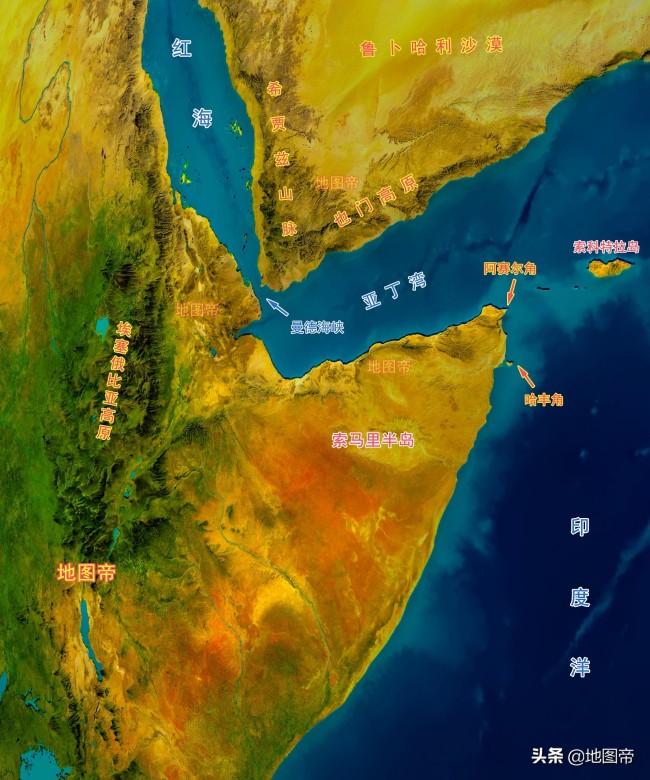 非洲之角索马里位于亚欧航道上,为何那么穷?