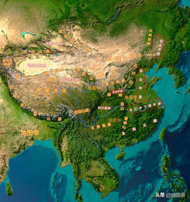 十三朝古都西安所在的渭河平原,为什么叫关中?