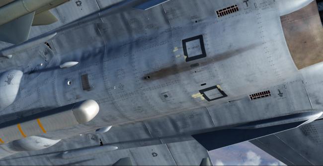 """军事游戏中的中国战机""""枭龙"""" 照片级的画质"""