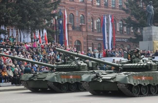 资料图:俄罗斯T-80BV坦克