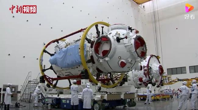 现场视频!揭秘中国空间站天和核心舱是如何研制