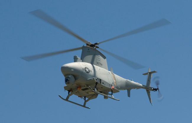 美国海军MQ-8B无人直升机
