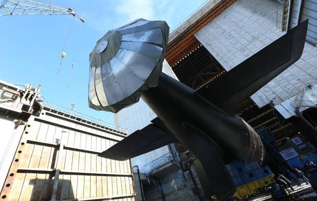 全球首艘高超声速导弹核潜艇!近期或交付俄海军