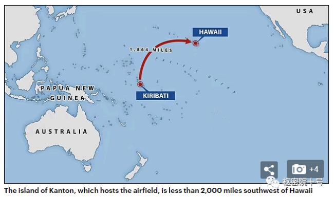 """外媒称""""中国在夏威夷附近建基地"""""""