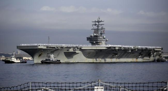 美国在亚太唯一航母前往中东,协助美军撤离阿富汗