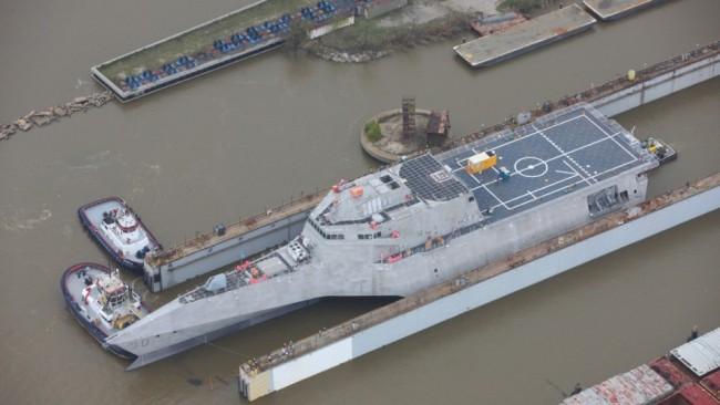 """美媒:美军最新濒海战舰命名""""堪培拉""""号"""
