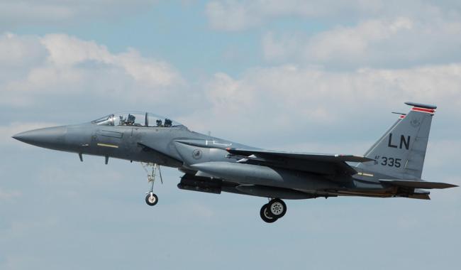 韩国F-15K 高丽的攻击鹰