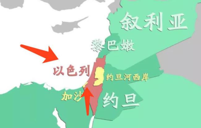 以军空袭加沙 系巴以停火后首次