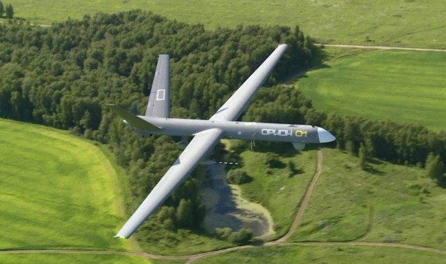 俄罗斯向国际推销首款攻击无人机
