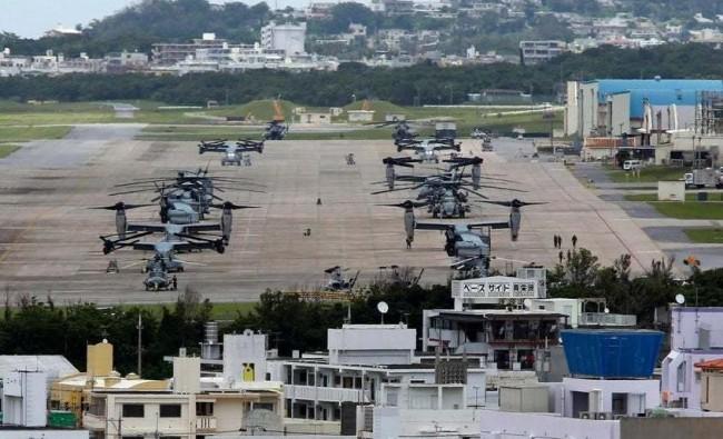 驻日美军东京低空飞行引民怨