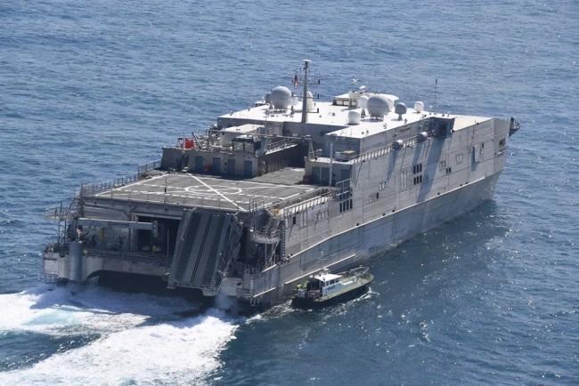 俄方警告局势恐升级后,美军又派运输船闯入黑海