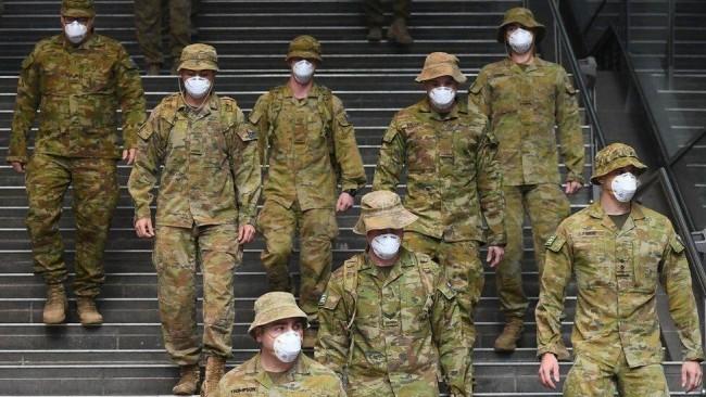 为疫情防控 澳大利亚出动国防军协助封锁街头