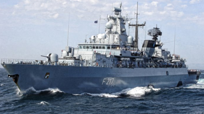 德国护卫舰今日起程前往印太 还希望访问上海