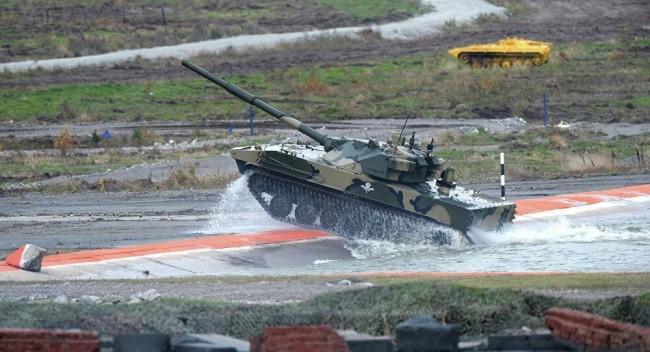 俄军空降部队未来的轻型坦克 资料图