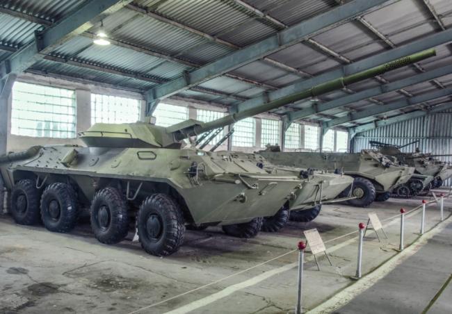 从中俄联合军演看苏/俄轮式突击车曲折发展