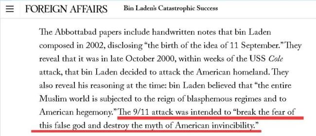 20年过去了:美国赢了,但拉登也赢了