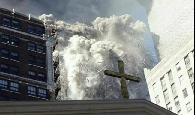 """20年后 美国特勤局发推公布""""9·11""""""""罕见""""照片"""