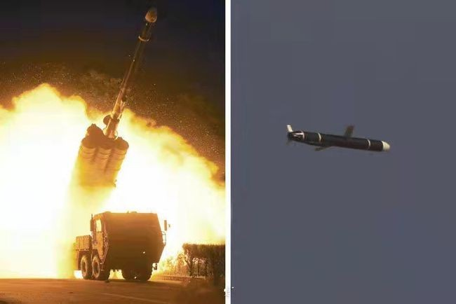 朝中社:朝鲜成功试射新型远程巡航导弹,射程1500千米