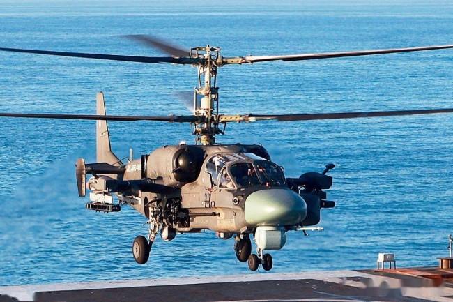 中国需要俄制卡-52K舰载武装直升机吗?
