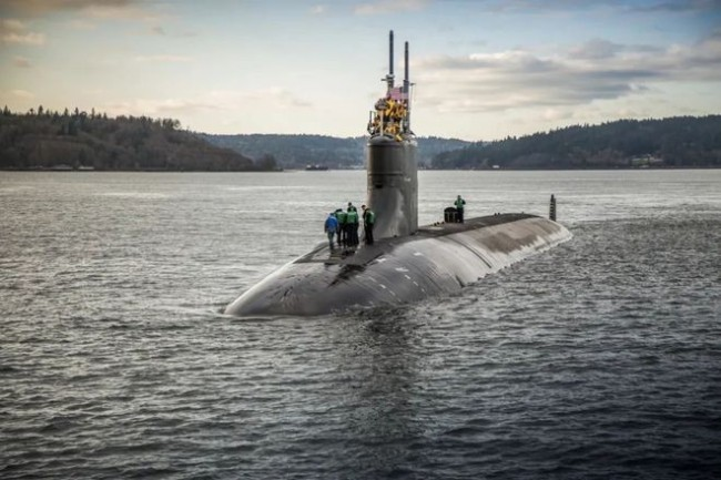 美国核潜艇撞击到底发生在南海什么位置?央视披露