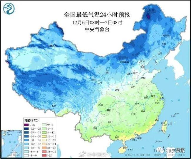 明日迎大雪节气,断崖式降温来了!下周北京有雪吗