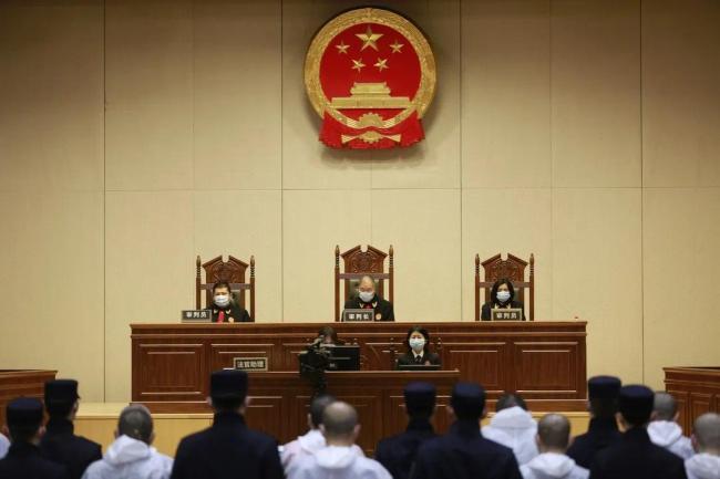北京市第三中级人民法院对焦德全等人组织、领导、参加黑社会性质组织系列案作出一审公开判决