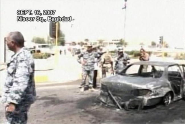 """特朗普赦免""""尼苏尔广场""""事件罪犯 伊拉克外交部表示遗憾"""