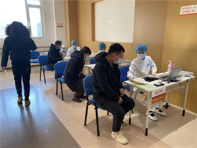 中国有序开展新冠疫苗接种