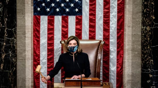 历史第一!美国众议院通过决议案弹劾特朗普