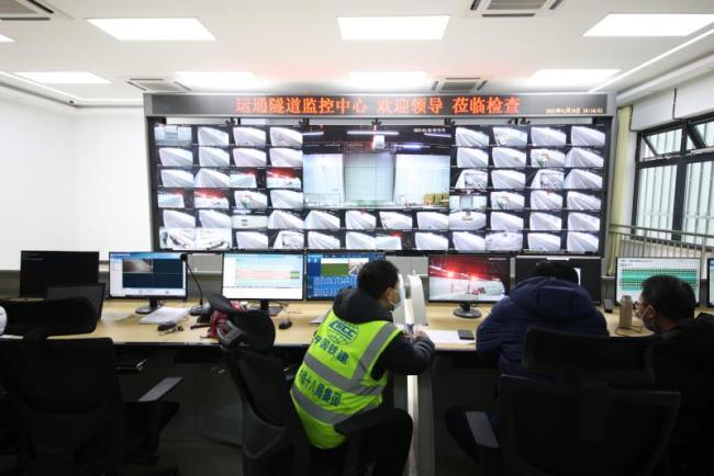广渠路东延通车,隧道201处控制点远程实时监控