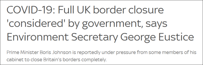 British environment minister: the government is discussing whether to
