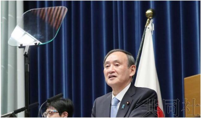 被批读稿缺乏感情、多有口误后,菅义伟首次用提词机开记者会