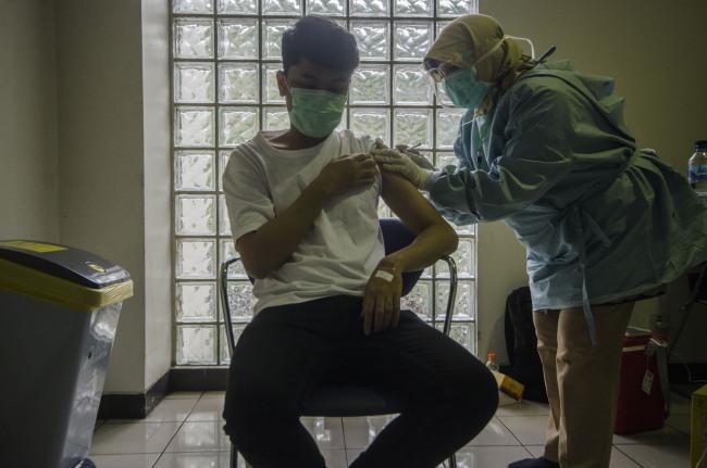 印尼:接种疫苗
