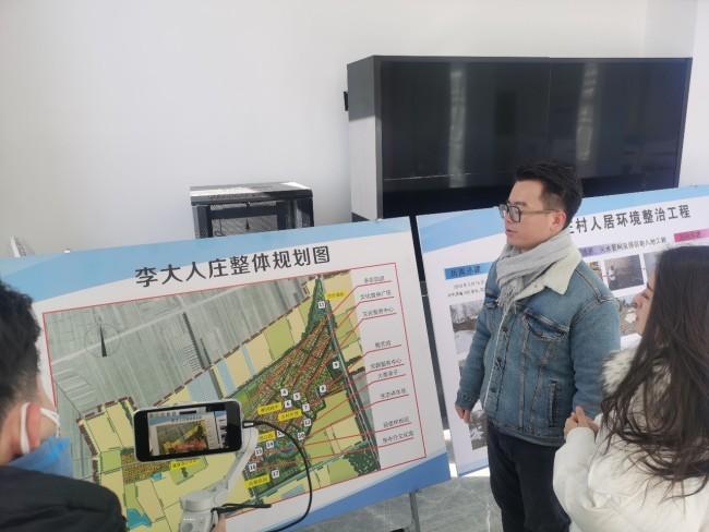 第一视频村播365直播团队来到武清区河北屯镇农业服务中心