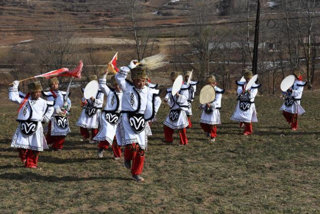 【新春走基层】甘肃渭源:羌蕃鼓舞迎新春