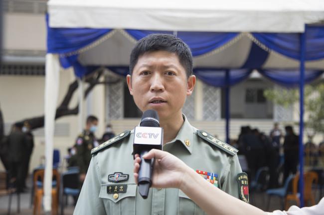 柬埔寨首日接种中国新冠疫苗 柬副首相兼国防大臣:为柬士兵再增防护