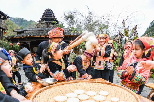 【网络中国节·春节】瑶乡民俗乐趣多,过上欢乐幸福年