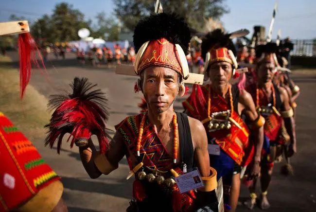 那加族人 图源:今日印度