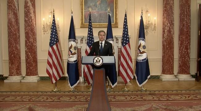什么意图?美国务卿首场外交政策演讲单独点名中国