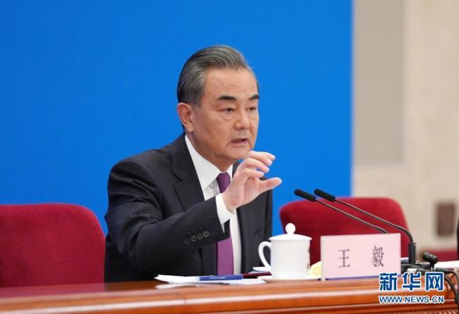 (现场实录)国务委员兼外交部长王毅回答中外记者提问