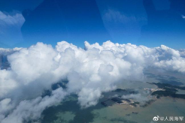 """惊艳!飞行员拍的""""云照片"""",超乎你的想象!"""