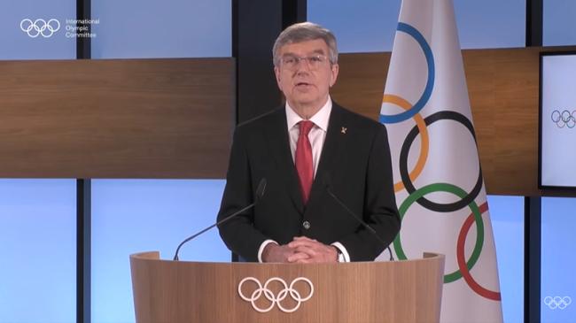 国际奥委会主席巴赫肯定北京冬奥会筹办工作